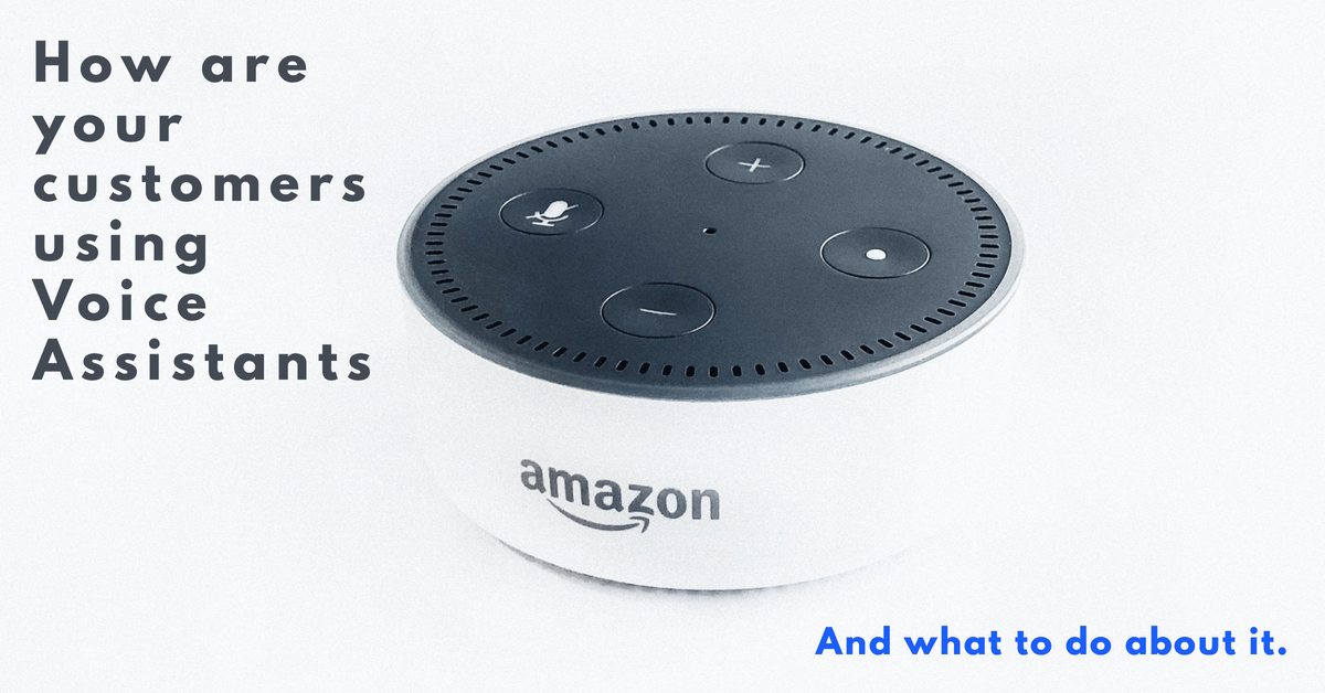 How are your customers using Voice Assistants